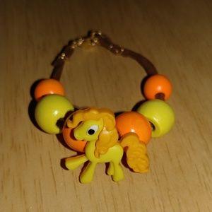 *$4 in bundle* Child's colorful pony bracelet